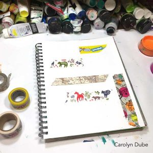 Getting to know your art supplies with Carolyn Dube