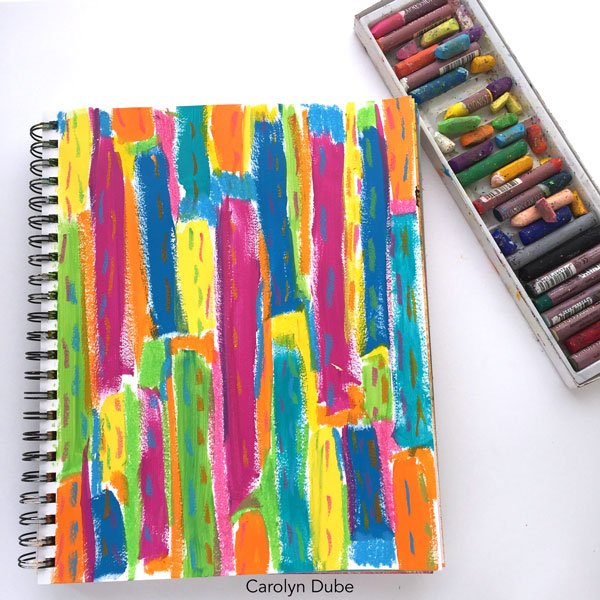 art-journaling-with-leftover-paint-carolyn-dube3